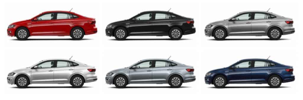 Plan de Ahorro Volkswagen Colores Disponibles