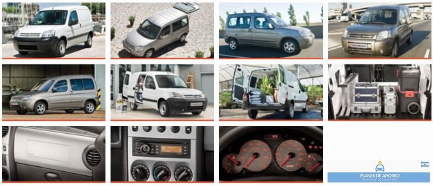 Fotos Citroen Berlingo - Plan de ahorro autos en cuotas.