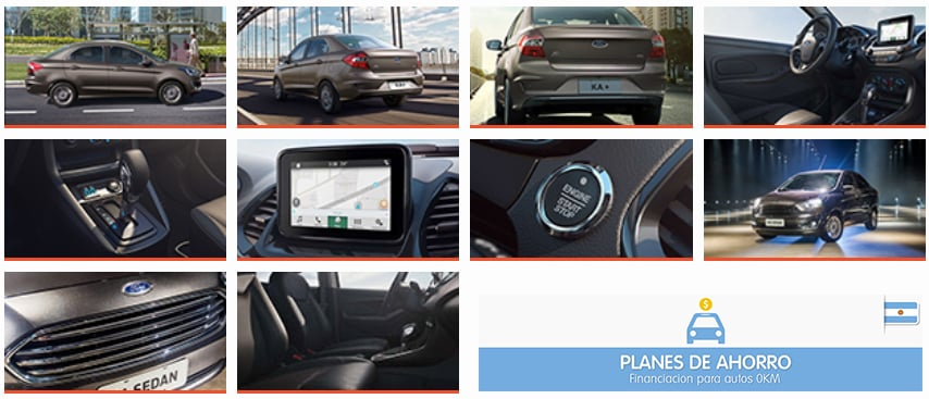 Fotos Ford Ka SEDAN - Plan Ovalo, plan de ahorro autos en cuotas.