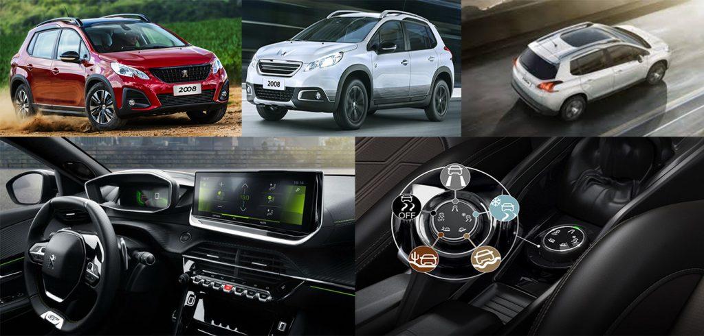 Galeria de fotos plan de ahorro Peugeot 2008, auto en cuotas.