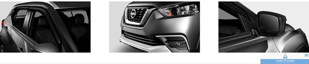 Fotos Nissan Kicks, plan de ahorro autos en cuotas.
