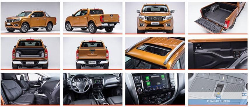 Fotos Nissan Frontier, plan de ahorro autos en cuotas.