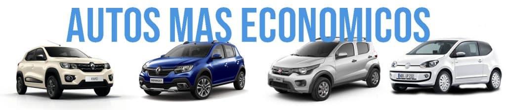Autos mas económicos en combustible