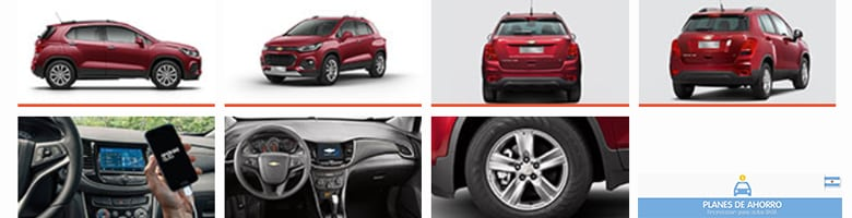 fotos plan de ahorro Chevrolet Tracker